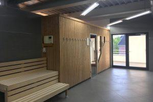 Eisenhauer Training mit Sauna