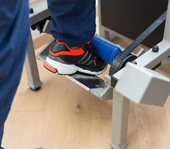 Knietraining Körperhaltung und Gangbild