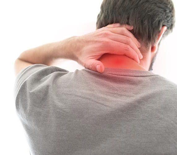 Nackenschmerzen durch einseitige Belastung
