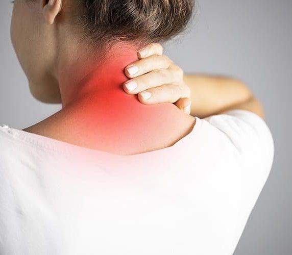 Nackenschmerzen durch Verspannungen