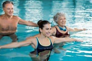Alternative Übung Schwimmen