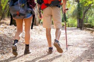 Alternative Übung Wandern