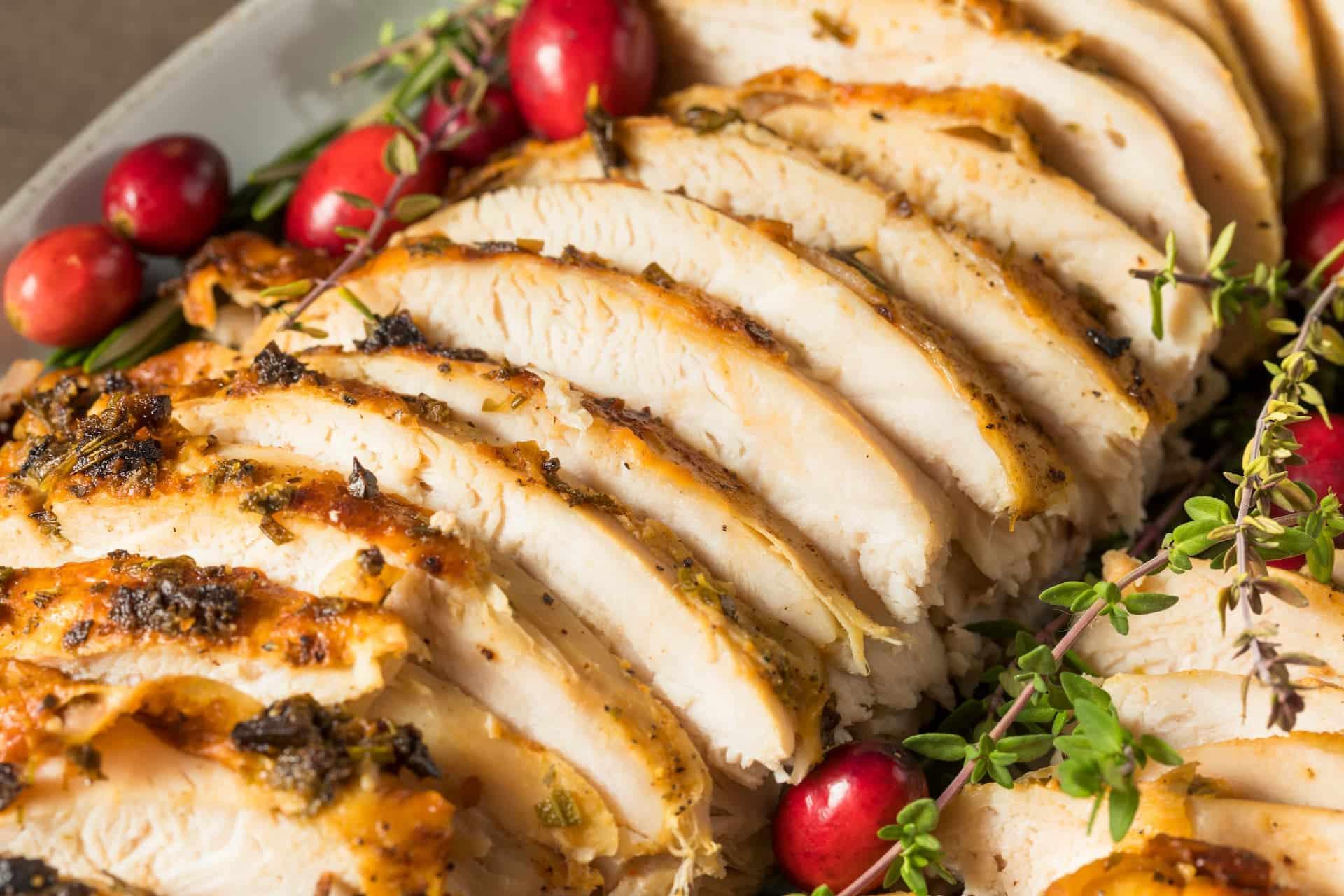 Hähnchen- und Geflügenfleisch - Platz 4 eiweißhaltige Lebensmittel