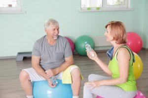Reha-Sport - Austausch mit anderen Betroffenen